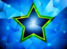 Free Glossy Star Shape Royalty Free Stock Image - 36029456