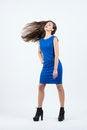 Free Beautiful Stylish Girl With Long Hair Stock Image - 36037631