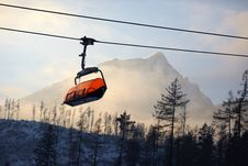 Free Cabin Mountain Lift Stock Images - 36037164