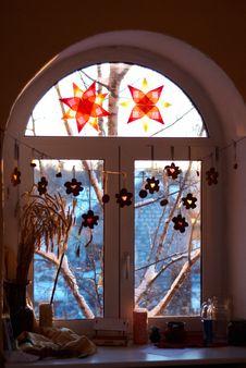 Decorated Window Stock Photos