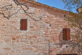 Free The Old Church Of Red Bricks Of Italy Stock Photography - 36044682