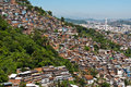 Free View Of Poor Living Area In Rio De Janeiro Stock Photography - 36046432