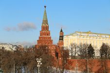Free Kremlin Towers Stock Photography - 36042932