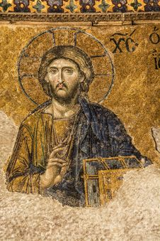 Free Jesus Christ In Hagia Sophia Stock Images - 36043444