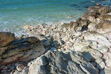 Free Rocky Coast Of The Black Sea Stock Photo - 36043920