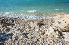 Free Rocky Coast Of The Black Sea Stock Photography - 36044092