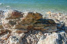 Free Rocky Coast Of The Black Sea Stock Image - 36044231