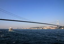 Free Bosporus Bridge Stock Photo - 36044850