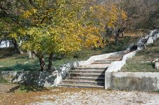 Free Autumn Landscape In The Park Area. Stock Image - 36044901