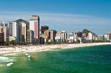 Free Ipanema Beach, Rio De Janeiro, Brazil Stock Photo - 36044930