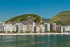 Free Copacabana Beach, Rio De Janeiro, Brazil Stock Images - 36045644