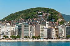 Free Copacabana Beach, Rio De Janeiro, Brazil Royalty Free Stock Photo - 36045665