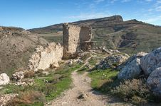 Free The Ruins Of An Ancient Fortress In Balaklava Royalty Free Stock Image - 36045986