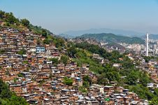 Free View Of Poor Living Area In Rio De Janeiro Stock Images - 36046064