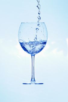 Free Glass With Water Royalty Free Stock Images - 36048359