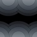 Free Abstract Dark Grey Paper Circles Background Stock Photography - 36051632