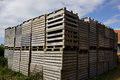 Free Wooden Pallets For Cargo And Logistic Stock Photography - 36058962