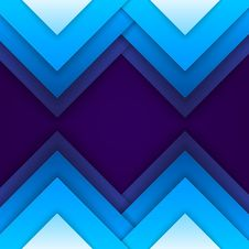 Free Abstract Blue Paper Triangle Shapes Background Stock Photo - 36052340