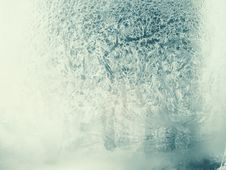 Free Frosted Window Royalty Free Stock Photo - 36055655