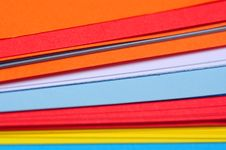 Free Colored Paper Sheets Royalty Free Stock Photography - 36056527