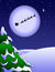 Free Santa Clause Christmas Night Royalty Free Stock Photo - 36052925