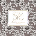 Free Wedding Card Royalty Free Stock Photography - 36061247