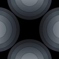 Free Abstract Dark Grey Paper Circles Background Stock Photo - 36069700