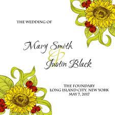 Free Wedding Card Stock Photography - 36060642