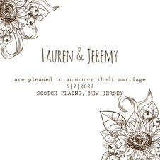 Free Wedding Card Royalty Free Stock Images - 36060699