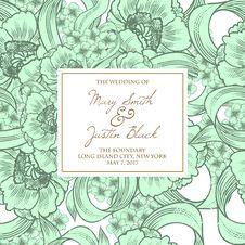 Free Wedding Card Stock Photo - 36060870