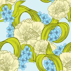 Free Fresh Flower Background Royalty Free Stock Image - 36061626