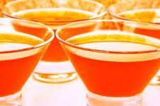 Free Orange Jelly Close-up On Full Background Royalty Free Stock Images - 36064429