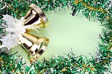 Free Decorations Ribbon For Christmas And New Year. Stock Photography - 36066562