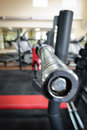 Free Empty Barbell Bar Waiting To Workout Stock Photography - 36075202