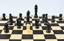 Free Chess Figures Royalty Free Stock Photo - 36070525