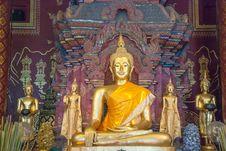 Free Thai Temple Royalty Free Stock Photos - 36073758