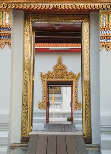 Free Thai Temple Royalty Free Stock Photography - 36074057