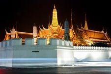 Free Thai Temple Royalty Free Stock Photo - 36074065
