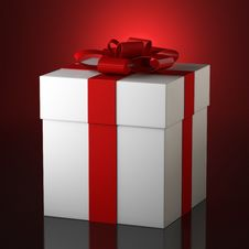 Free Present Box Royalty Free Stock Photography - 36076467