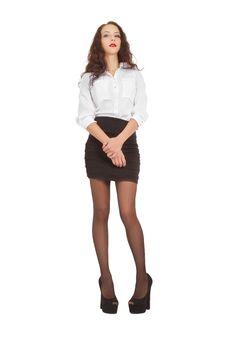 Free Beautiful Young Woman Royalty Free Stock Photo - 36078445