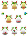 Free Pack Christmas Bells Royalty Free Stock Image - 36080966