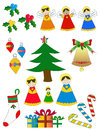 Free Pack Christmas Figures Royalty Free Stock Photography - 36080997