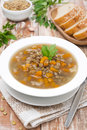 Free Vegetable Soup With Lentils, Vertical Stock Images - 36082904