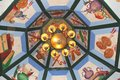 Free Decorated Ceiling In The Hualin Temple, The Oldest Temple In Guangzhou, China Stock Photo - 36089390