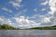 Free Klyazma River &x28;Russia&x29; Stock Photos - 36085013