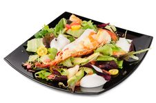Free Lobster Salad In Japanese Style Stock Images - 36085514