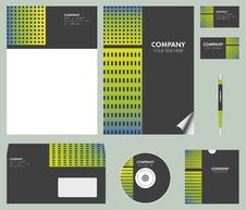 Free Corporate Identity Kit Royalty Free Stock Images - 36086639