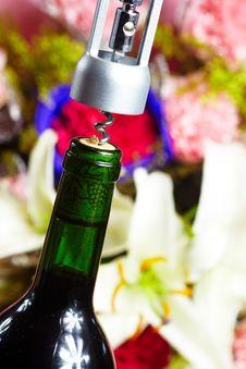 Free Wine Bottle Opener Macro Royalty Free Stock Photo - 36089125