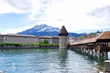 Free Luzern Panorama Royalty Free Stock Photos - 36089618