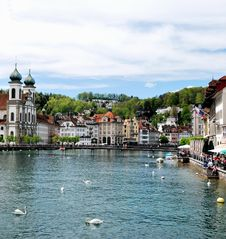 Free Luzern Panorama Royalty Free Stock Photo - 36089625